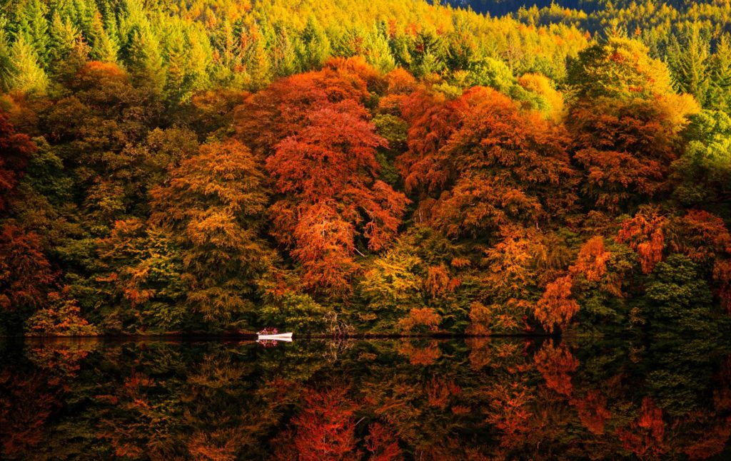 Perthshire Loch Faskally